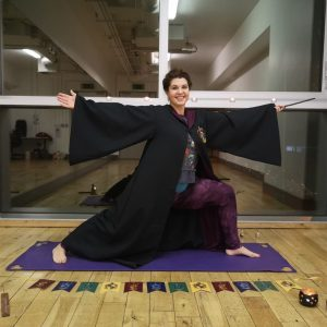 The Nerdy Naturopath - Siobhan Carroll - Wizard Yoga for Harry Potter fans